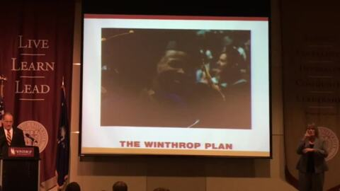 New programs, student and staff retention among goals from Winthrop president