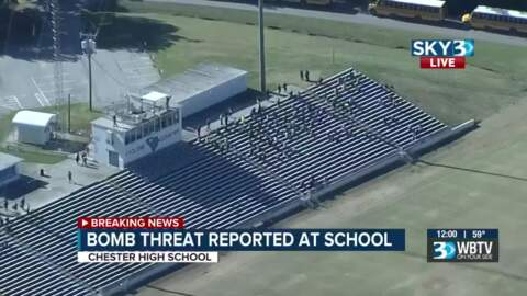 2 Chester County schools evacuated, roads closed after bomb threat. No bomb found