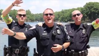 "Tega Cay police join national lip sync challenge with 'Ridin'"", other tunes"