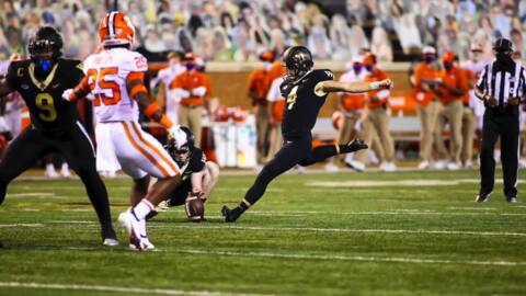 Wake Forest kicker, Clover grad Nick Sciba tells the story of a lasting memory with his sister, Emery