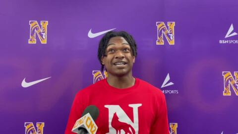 AJ Thompson of Northwestern signs to play basketball at Newberry