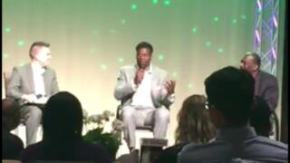 Benjamin Watson and his father talk about when they first moved to Rock Hill