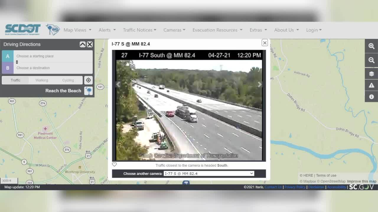 How to survive this months work on I-77 bridge. Tips on real-time details, detours