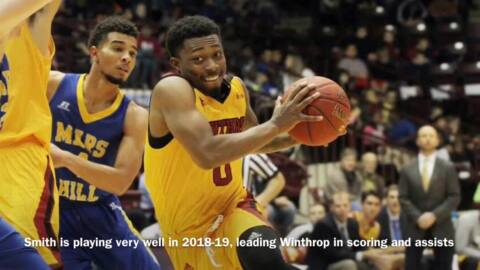 Winthrop's Nych Smith explains why he stayed in Rock Hill this past offseason