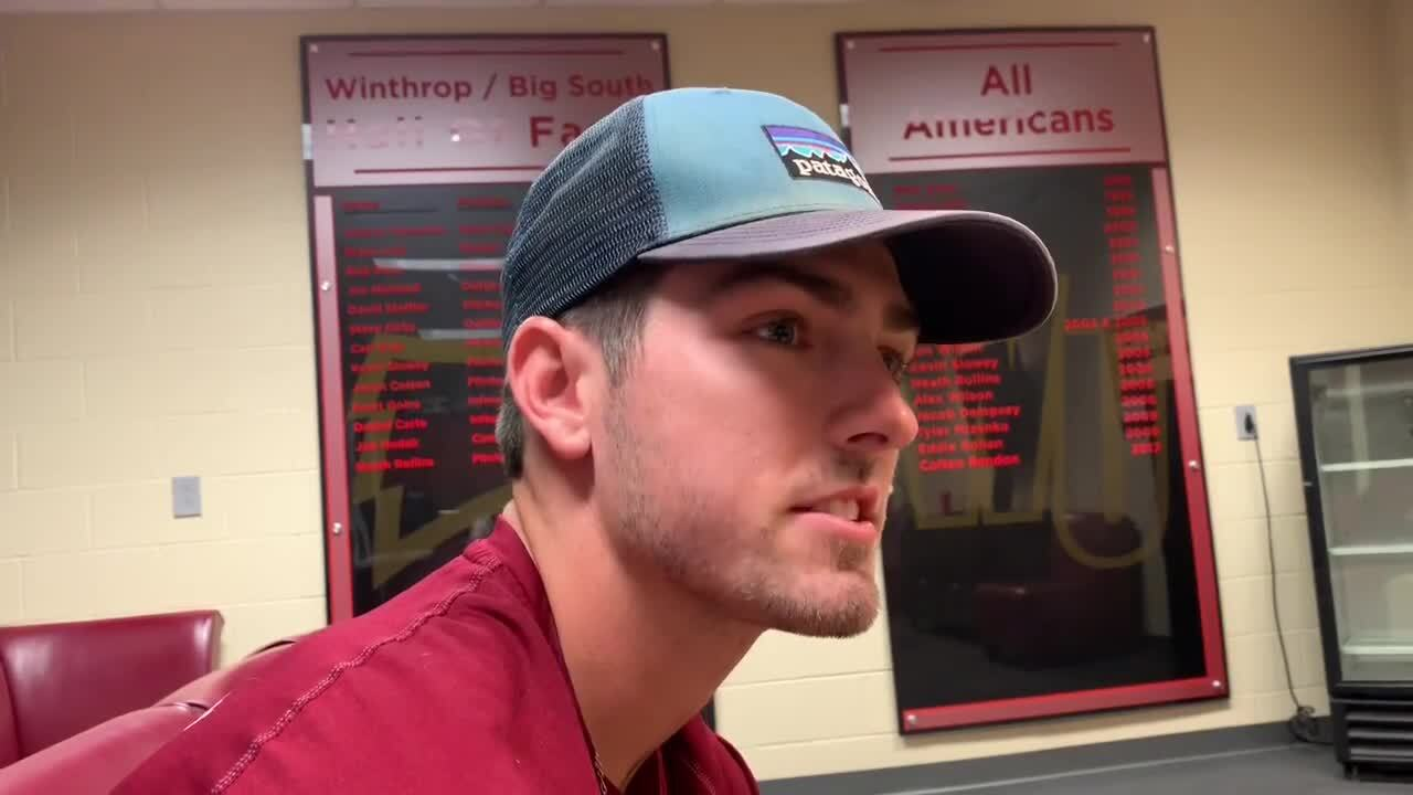 'I'm gonna marry that girl': how settling down helped Winthrop's Brandon Fite hit .360
