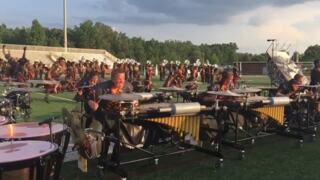 CarolinaCrown performs in Fort Mill before nationwide competition tour
