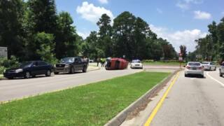 Bluffton Traffic Circle Accident