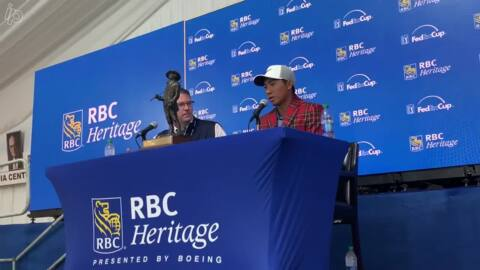 RBC Heritage winner C.T. Pan talks about his strategy for winning Hilton Head tourney