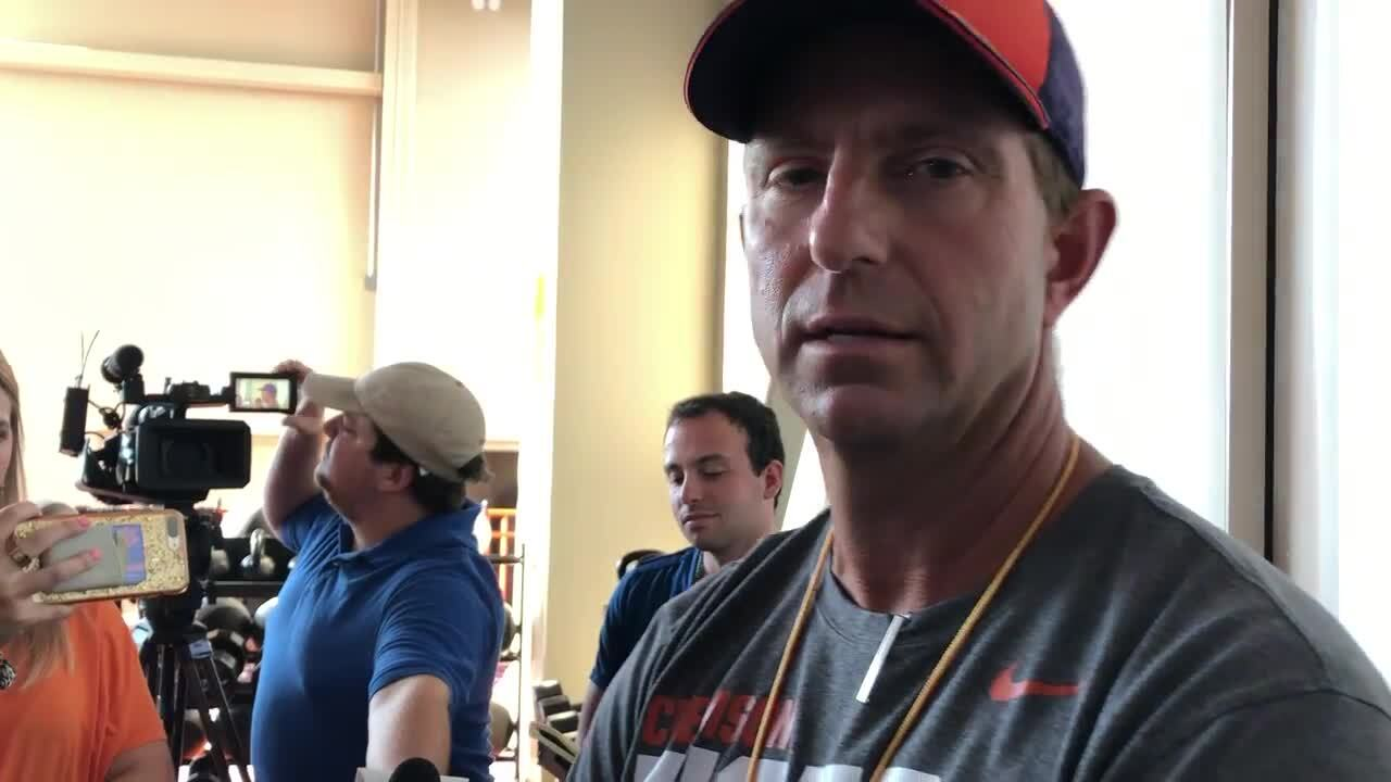 Why Dabo believes the opener is Clemson's hardest game to prepare for all year