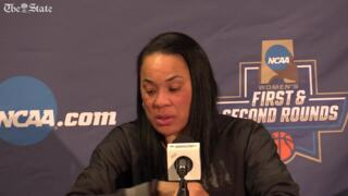 'We have better basketball in us' Dawn Staley reflects on Gamecocks' first round at the NCAA