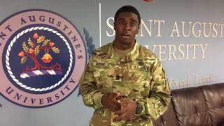 Five Points shooting victim talks about Army experience at his university