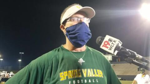 Spring Valley coach Robin Bacon remembers Charles Peterson