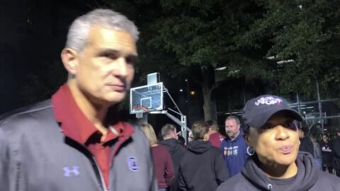 Frank Martin, Dawn Staley talk Gamecock Tipoff, future events, promoting basketball