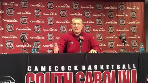 Frank Martin: Tough early schedule prepared Gamecocks for road SEC challenge ahead