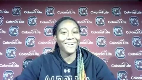 Aliyah Boston explains what went into her historic triple-double for USC