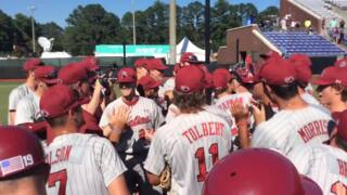Watch the Gamecocks celebrate advancing to the NCAA Tournament Super Regional