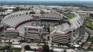Look into Williams-Brice to see final Beyonce' concert preparations