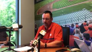 Clemson coach Monte Lee on why he is confident for next season