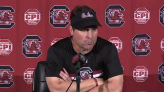 Muschamp pleased with what he sees from scrimmage