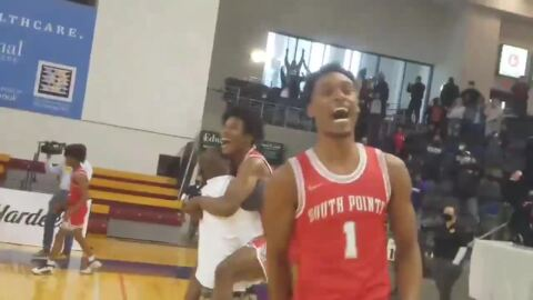 Watch: South Pointe celebrates first boys basketball championship