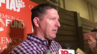 Clemson coach Brad Brownell talks recruiting, building off success