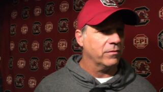 Lance Thompson explains what South Carolina has on the defensive front