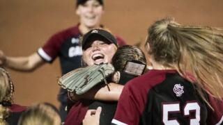 Down to last out, USC softball fights back to win regional