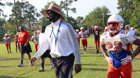 Will Richardson sets sights on success with RNE football