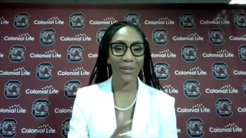 A'ja Wilson describes what it means to have a statue at South Carolina