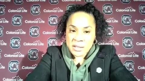 What separates Aliyah Boston from A'ja Wilson? Dawn Staley explains