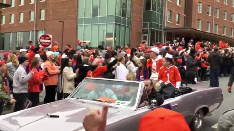 Clemson celebrates national championship with a parade