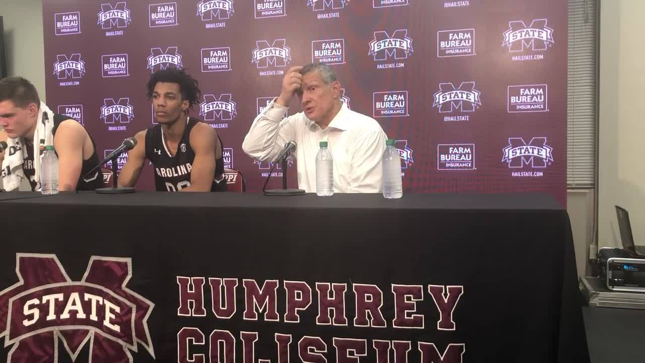 Second half dooms Gamecocks in road loss to Mississippi State