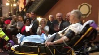 Emergency crew rushes to help SC Rep. after collapse