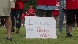 'Education is the key': SC teachers and state workers rally at State House