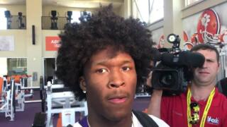 Clemson WR Ray-Ray McCloud recaps pro day performance