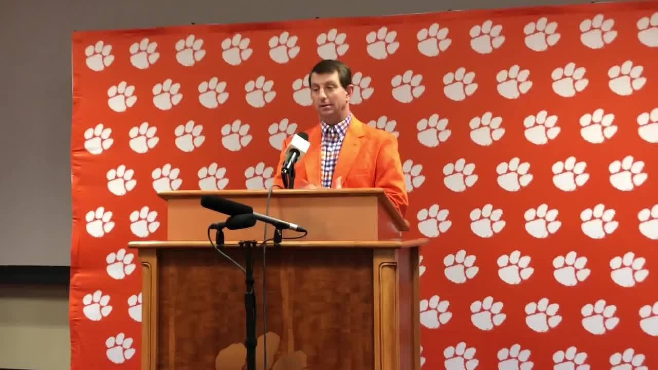 Clemson alters class schedule for 2019 opening football game | The State