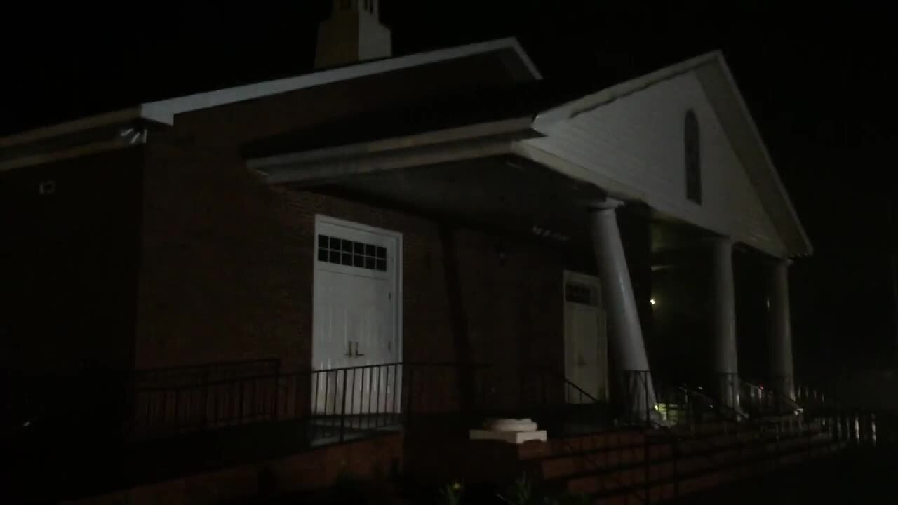 Lexington church damaged, thousands without power after severe storms, possible tornadoes