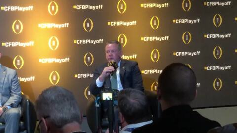 Clemson's Dabo Swinney, Brian Kelly talk College Football Playoff