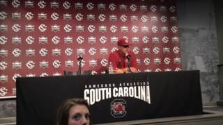 Mark Kingston talks South Carolina's series win over No. 19 LSU