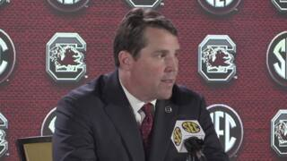 Muschamp touts amenities of football operations building