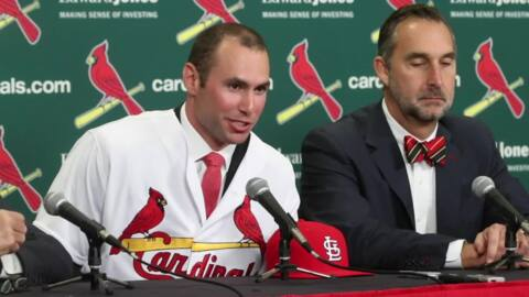 St. Louis may have stolen Paul Goldschmidt from Arizona, but he's going to want his money