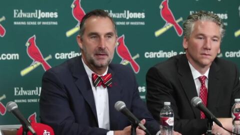St. Louis Cardinals plan to be active at Winter Meetings but feel the starters are already on the team