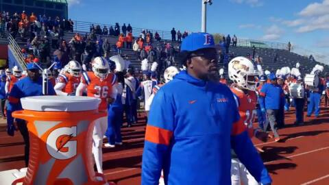 East St. Louis 44, Morgan Park 0 Nov. 2, 2019
