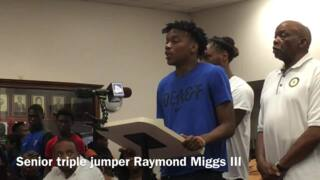 Highlights from meeting on East St. Louis track team