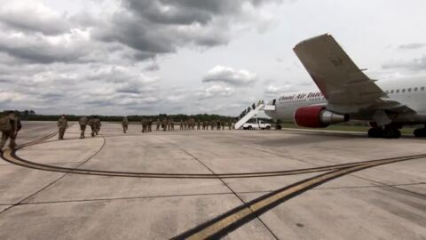 375th Air Mobility Wing Mission on Scott Air Force Base