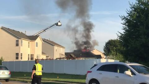 Family threw charcoal from grill in trash before Shiloh home fire started, chief says