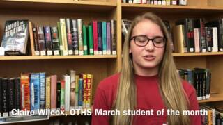 O'Fallon seniors earn March 2018 student of the month recognition
