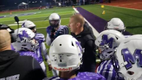 Mascoutah vs Kankakee, IHSA Class 5A postseason, Nov. 9, 2019