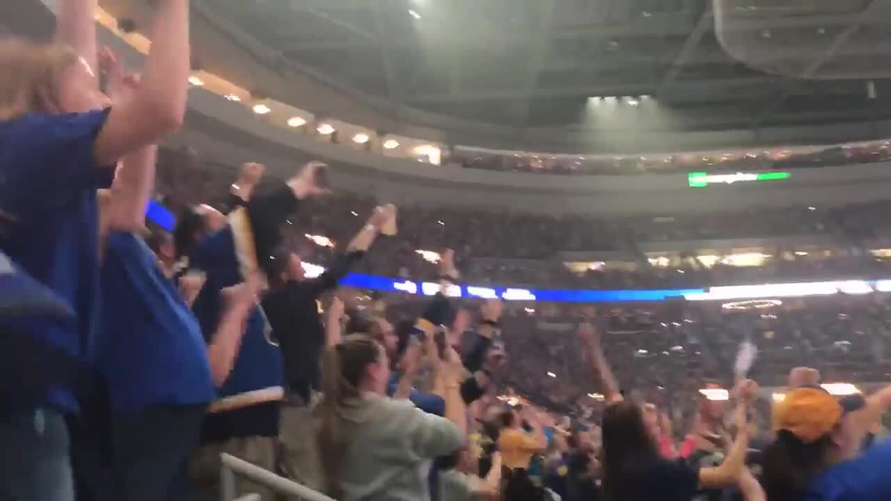 st  louis blues fans attend sold out watch parties