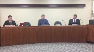 Hal Patton speaks at Edwardsville City Council meeting